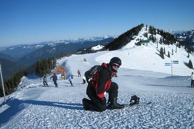 Chris at the summit