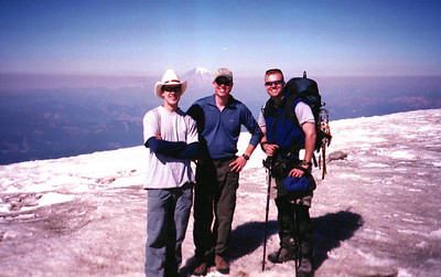 Mt Adams summit 2001