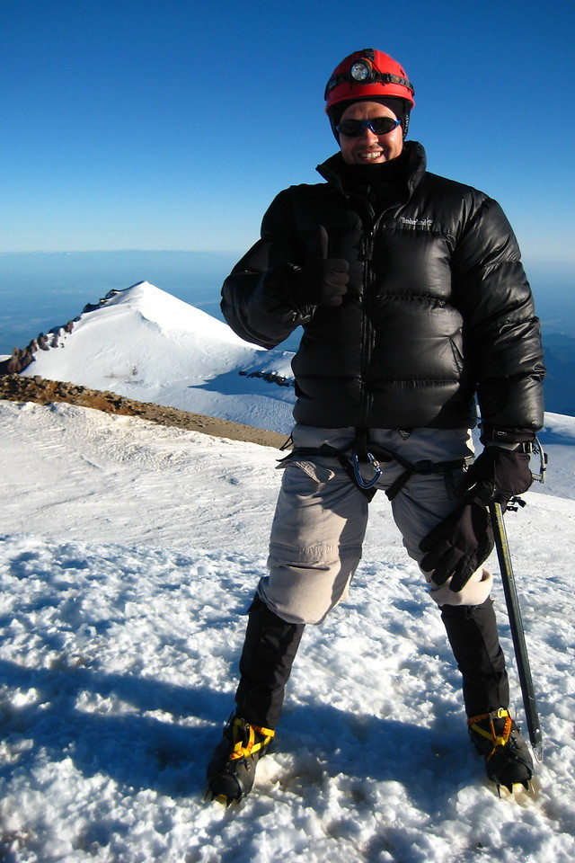 Me on the high point. I had almost every layer of clothing on and was still cold.