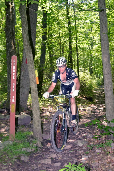 2014 Stoopid 50 / Downhill after Three Bridges