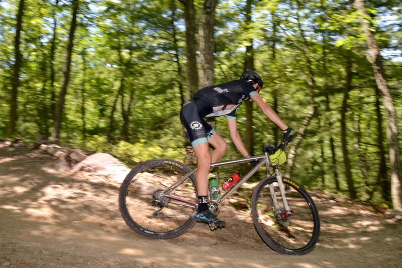 2014 Stoopid 50 / Downhill after Three Bridges