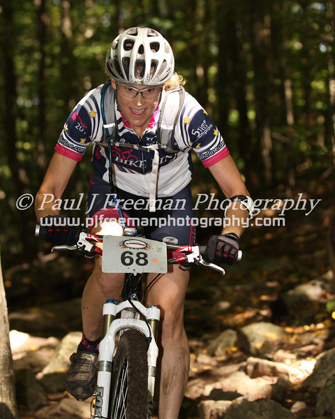 Sue Mrugal - keeps on smiling... even in  the toughest terrain..