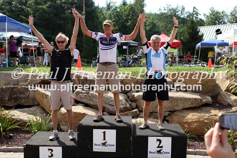 img_9166 _(left to rght)_ Myron Zwally (3rd) _BikeLine Racer_(1st), Dirk Lord (2nd)