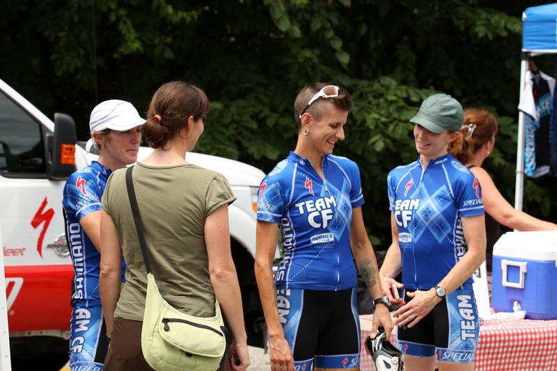 IMG_6448  (Team CF Ladies, L to Right) Kristin, Nikki, and Kathleen