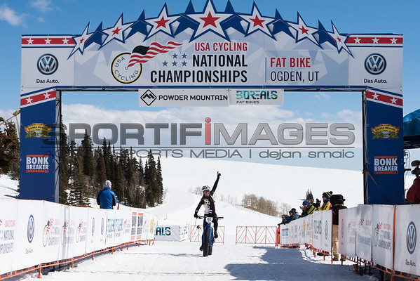 USAC Fat Bike National Championships at Powder Mountain Resort in Utah