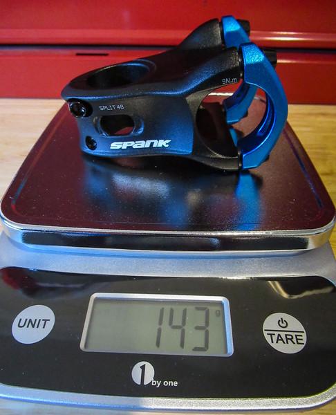Spank Split 48 Stem 143 grams