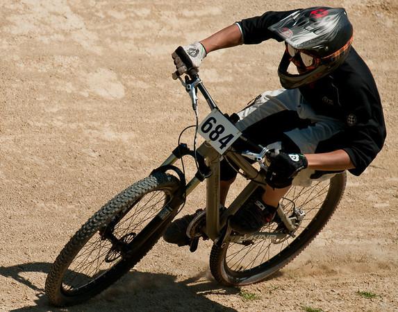 David racing four cross, Sand Hills