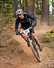 Thomas Frischknecht, winner of 18 World Cup races, 15 World Championship medals, and 11 Swiss national titles riding the Downieville Downhill, 2009