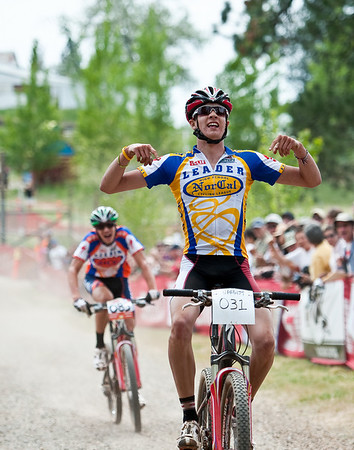 Will Curtis wins the sprint for the high school state championship title, Loma Rica Ranch, Grass Valley