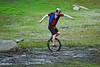 Unicyclist at Granite Bay
