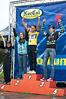 Varsity girls podium