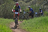 Max, Evan, and Ben on the first lap, Fort Ord