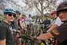 Bike circle at the pre-ride, Grants Ranch Park by San Jose