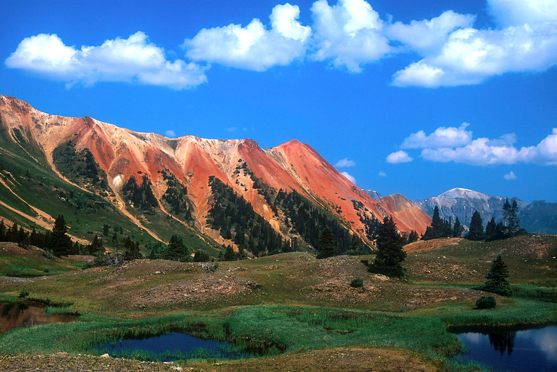 Red Mountains I