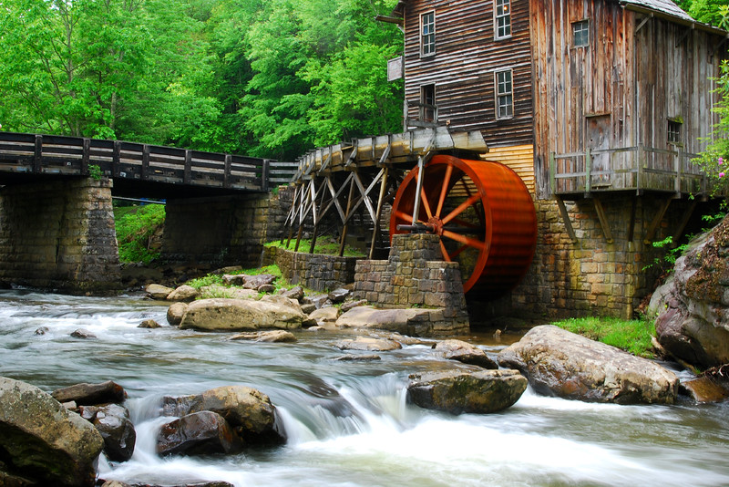 Glade Creek Grist Mill III