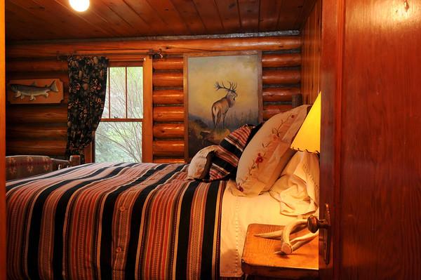 The Ennis Homestead Main Log Home