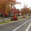 North Mountain Avenue Ashland Oregon--view heading north