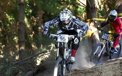 2010 NZ MTB Cup DH - Chch Raceday