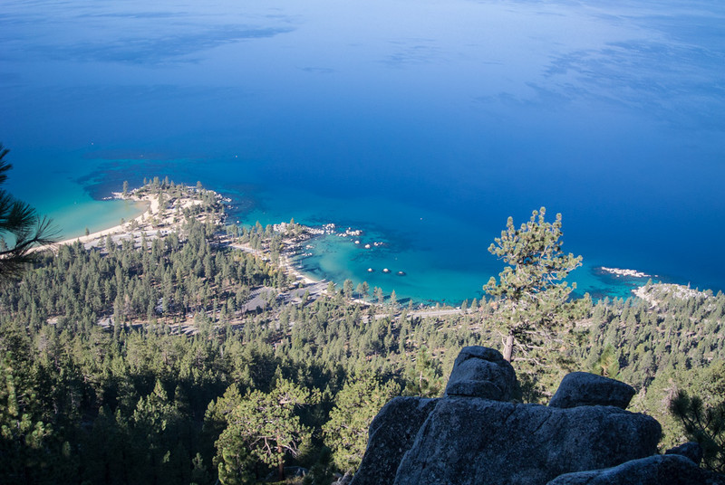 tahoe, amazing lake color