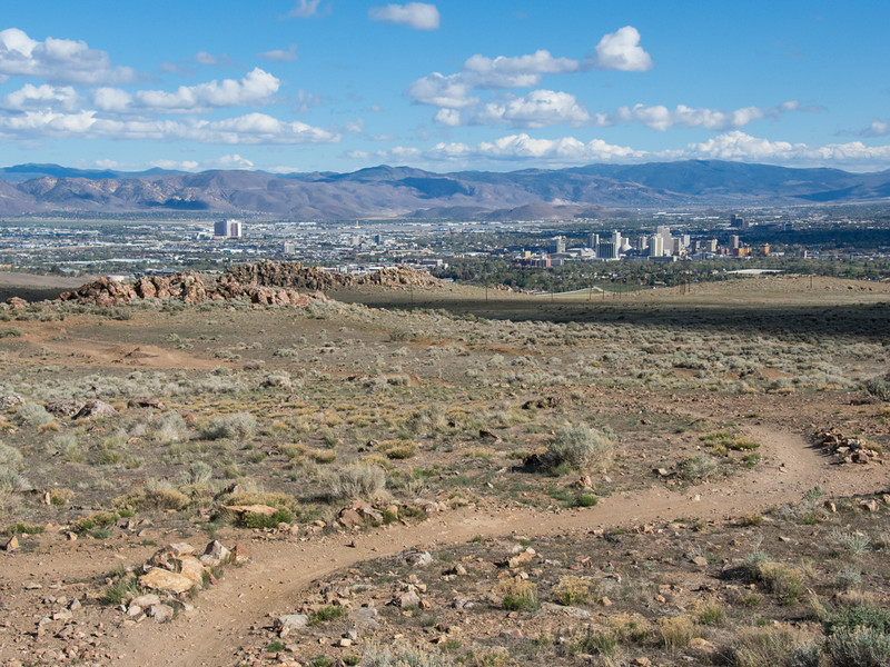 View of downtown Reno.