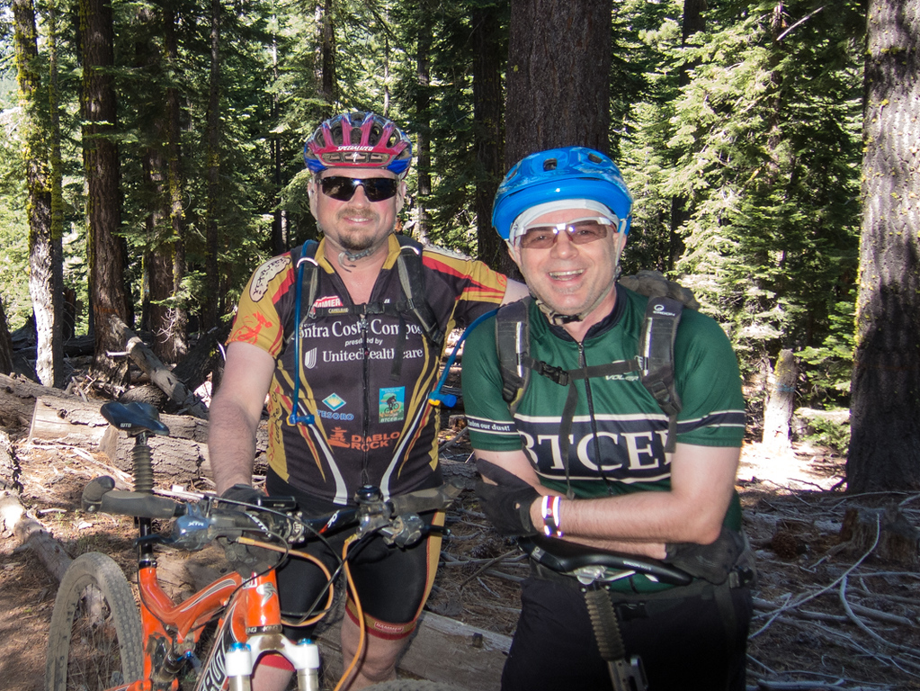 Dan and JC on Western States...