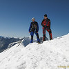 Summit of Breithorn mid