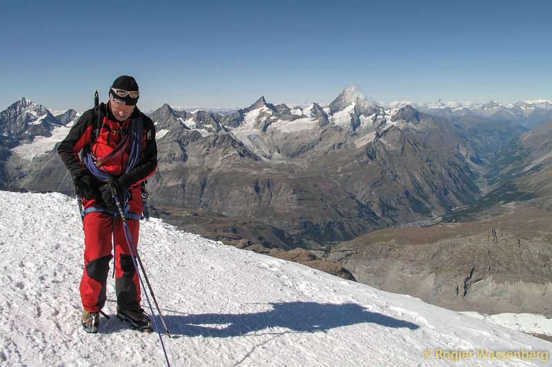 Summit of Breithorn West