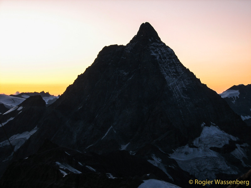 View from Klein Matterhorn