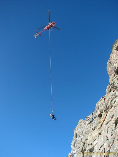 Rescue from Matterhorn.