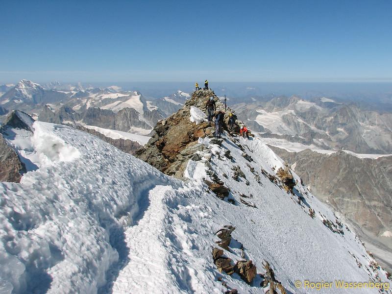 The Italian summit (4474m)
