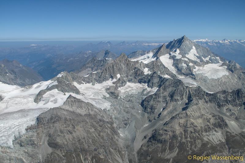 Obergabelhorn, Zinalrothorn, Weisshorn
