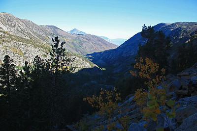 This is a photo from a little higher up looking down the valley towards Bishop.