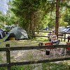 our camp at Trenta