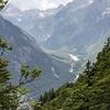 view into the Zadnja Trenta valley
