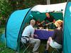 Campsite Forest Gate 1735m. (Mt.Kenya,E.Africa 2005)