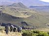 21 Dec. Road End 3327m. -- Hall Tarns 4290m. (Mt.Kenya,E.Africa 2005)