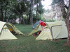 17 - 18 Dec. Campsite Forest Gate 16 km North of the equador (Mt.Kenia,E.Africa 2005)