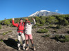 Marijn and porter (Kilimanjaro, Tanzania 2005, Millenium Camp 3818m.)