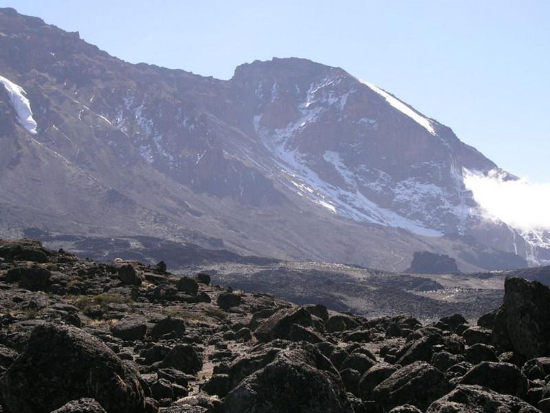 Western Breach (Kilimanjaro, Tanzania 2005)