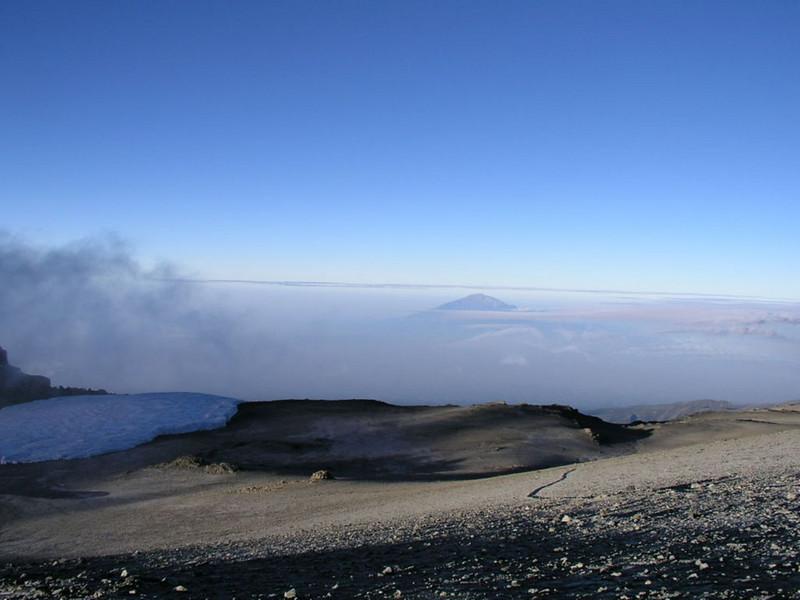 route ascent Kili (Kilimanjaro, Tanzania 2005)