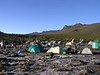 Camp Shira 1 3505m. 28 Dec. in the morning (Kilimanjaro, Tanzania 2005)