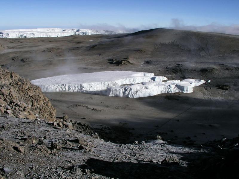 route on the Kili (Kilimanjaro, Tanzania 2005)