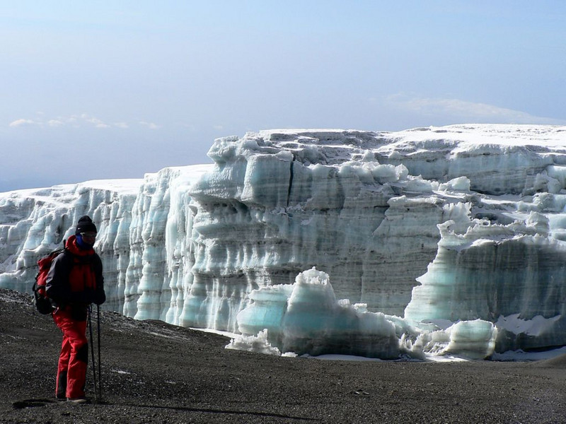 Arrow Glacier (Kilimanjaro, Tanzania 2005)