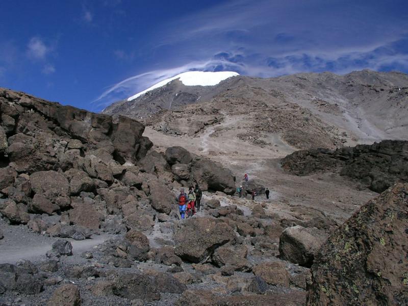 Lava rocks and stones (Kilimanjaro, Tanzania 2005)