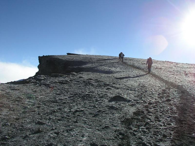 ascent to the summit (Kilimanjaro, Tanzania 2005)