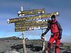 Uhuru peak 5895m. (Kilimanjaro, Tanzania 2005)