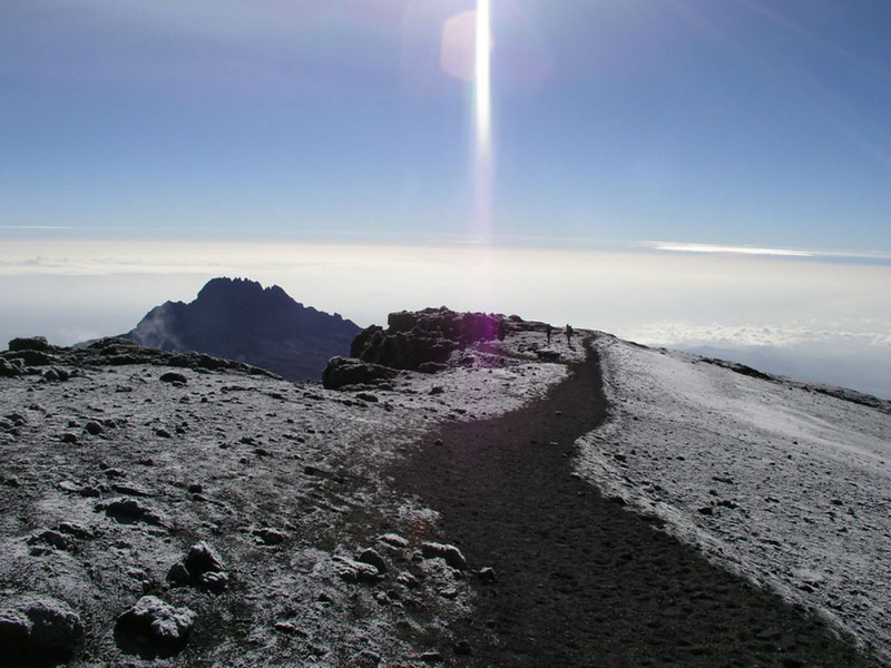 descent summit (Kilimanjaro, Tanzania 2005)