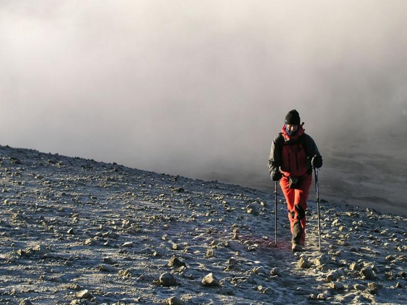 30 Dec.ascent Kili (Kilimanjaro, Tanzania 2005)