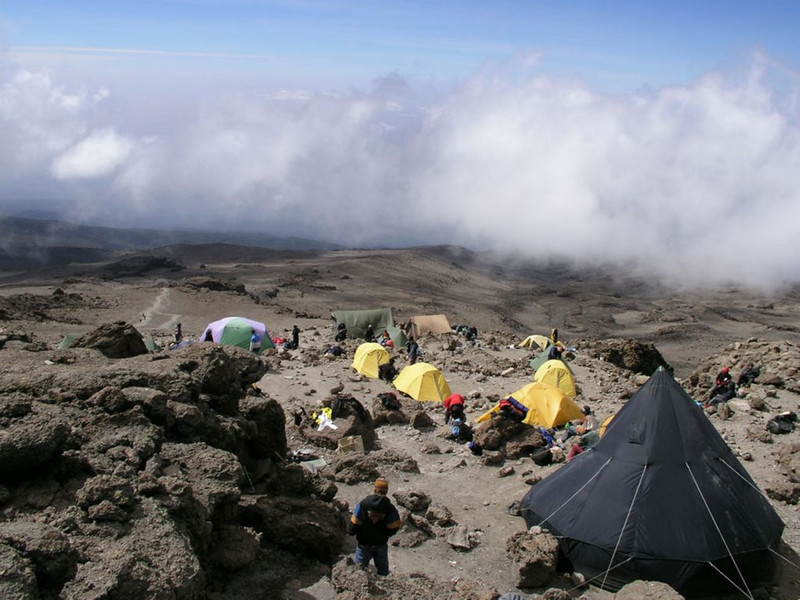 30 - 31 Dec. Millenium Camp 3818m. (Kilimanjaro, Tanzania 2005)