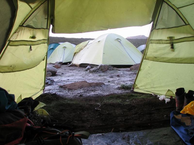 27 - 28 Dec.   Camp Shira 1 3505m. (Kilimanjaro, Tanzania 2005)